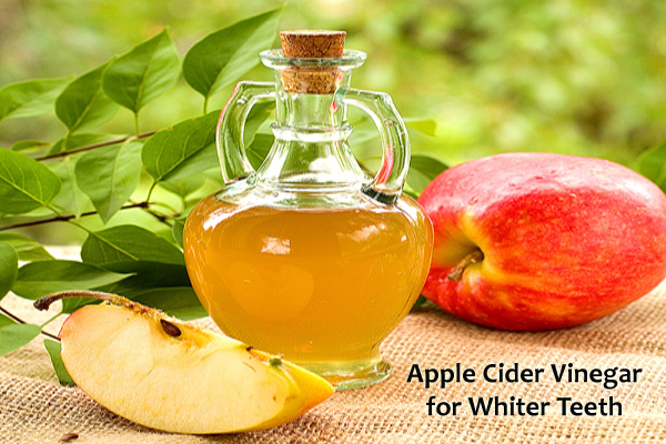 Apple Cider Vinegar for Whiter Teeth
