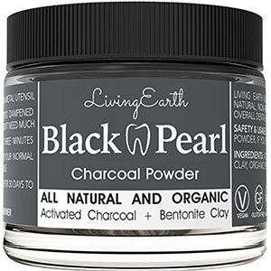 black pearl charcoal whitening